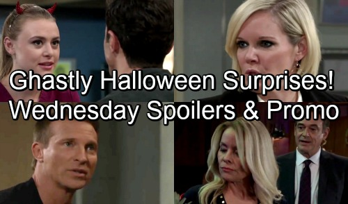 General Hospital Spoilers: Wednesday, October 31 – Ghastly Halloween Surprises – Ava Sinks Further Into Darkness – Jason's Special Gift
