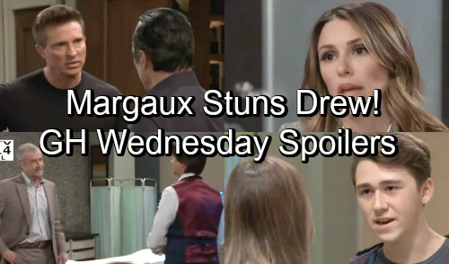 General Hospital Spoilers: Wednesday, October 10 – Margaux's Proposal Stuns Drew – Finn's Father Erupts – Jason and Sonny Strategize