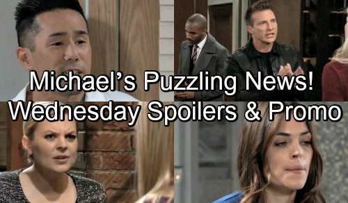 General Hospital Spoilers: Wednesday, November 7 – Jason Takes Charge - Michael's Puzzling News - Britt Helps Frantic Brad