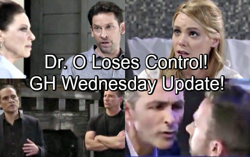 General Hospital Spoilers: Wednesday, July 18 Update – Chase Pulls Nelle Towards Trap – Dr. O's Out of Control – Julian's Setback