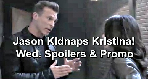 General Hospital Spoilers: Wednesday, April 10 – Kristina Drugged, Jason Races to Kidnap Her – Chase's Surprising Gift for Willow