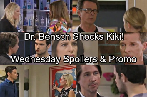 General Hospital Spoilers: Wednesday, May 2 – Sam Shares Divorce News with Jason – Dr. Bensch's Move Shocks Kiki