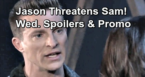 General Hospital Spoilers: Wednesday, April 3 – Oscar's Final Gift to Joss – Kristina Goes Too Far – Jason Threatens Sam