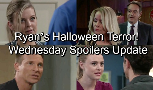 General Hospital Spoilers: Wednesday, October 31 Update – Ryan's Halloween Terror – Peter Makes Maxie an Offer – Kiki Gets Good News