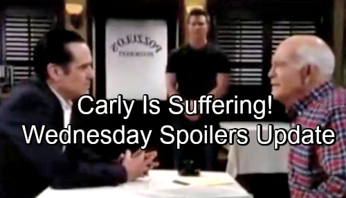 General Hospital Spoilers: Wednesday, June 13 Update – Carly's Suffering - Alexis Tackles a Mystery – Franco Gets Violent