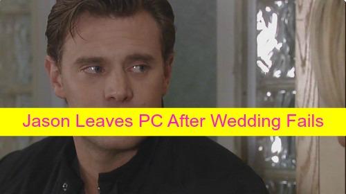 General Hospital (GH) Spoilers: Jason Morgan and Dr. Patrick Drake Leave Port Charles After Liz and Jake Wedding Fail