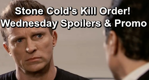 General Hospital Spoilers: Wednesday, April 24 – Sam Passes Shiloh's Sleazy Test – Sonny Orders Shiloh's Death – Alexis Goes Ballistic