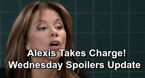 General Hospital Spoilers: Wednesday, December 19 Update – Sonny Plays with Fire – Alexis Takes Charge – Valentin's Step Forward