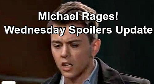 General Hospital Spoilers: Wednesday, December 5 Update – Chase Faces Raging Michael – Lulu Matchmakes – Alexis Steps Up