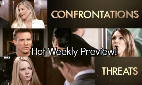 General Hospital Spoilers: Hot New Promo - Confrontations and Threats - New Weekly Video
