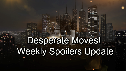 General Hospital Spoilers: Week of October 8-12 – Vicious Showdowns, Desperate Moves and Serious Warnings