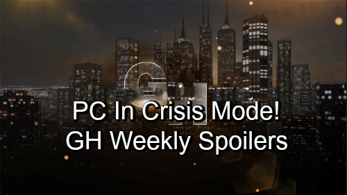 General Hospital Spoilers: Week of November 5 - PC In Crisis Mode - Stunning Revelations, Dirty Tricks and Desperate Missions