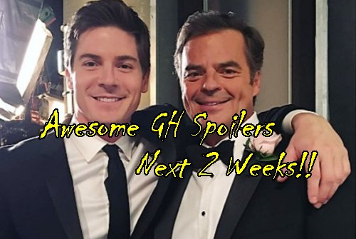 General Hospital Spoilers: Two Weeks June 26-July 7 - Q Wedding - Sam Lies to Jason - Valentin Calls Nina - Anna Gets a Man