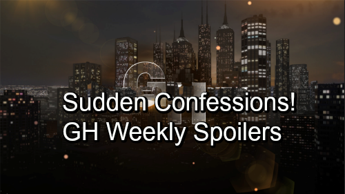 General Hospital Spoilers: Week of September 24 – Fierce Faceoffs, Angry Demands and Sudden Confessions