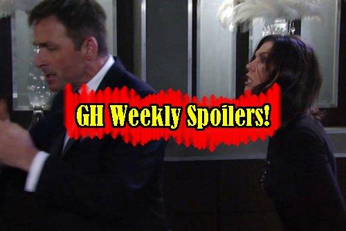 General Hospital Spoilers: Week of Jan 23 – Valentin Stuns Anna – Sonny Warns Nelle - Franco Danger Heats Up - Liz and Sam Unite
