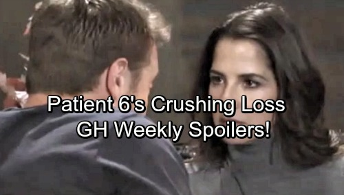 General Hospital Spoilers: Week of November 6 – Patient 6 Crushing Loss - Dr. Klein's Lucky Break - Man Landers Disaster