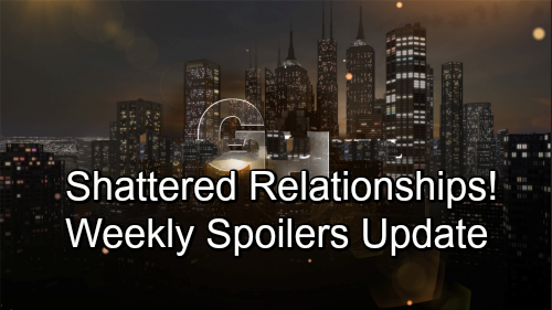 General Hospital Spoilers: Week of October 1-5 – Shocking Suspicions, Fierce Showdowns and Shattered Relationships