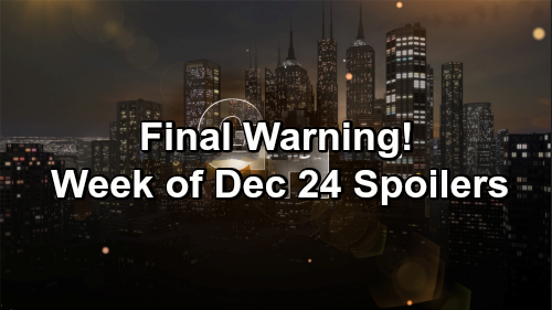 General Hospital Spoilers: Week of December 24 – Horrible Visit, Big Surprises and Final Warning