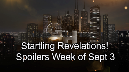 General Hospital Spoilers: Week of September 3-7 – Startling Revelations, Tough Missions and Exploding Conflict