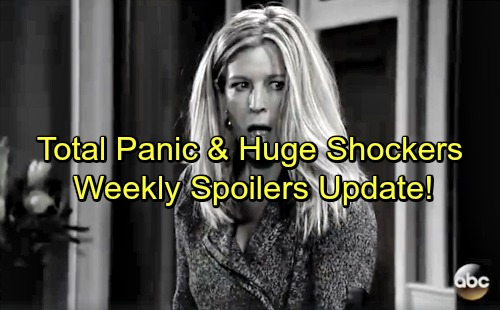 General Hospital Spoilers: Week of January 15-19 – Tough Blows, Total Panic and Huge Shockers