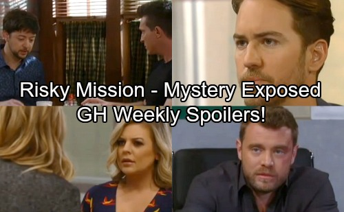 General Hospital Spoilers: Week of April 2-6 – Grave Danger, Risky Missions and Mysteries Revealed
