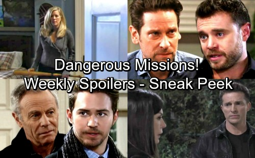 General Hospital Spoilers: Week of April 9-13 – Dangerous Missions, Big Breakdowns and Hot Romance