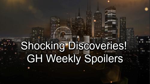 General Hospital Spoilers: Week of September 10 – Big Bombshells, Startling Discoveries and Major Confessions