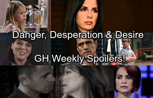 General Hospital Spoilers: Week of July 17 – Extreme Danger, Downward Spirals and a Shocking Request