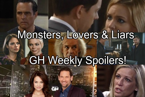 General Hospital Spoilers: Week of December 4-8 – Marriage Crisis, Monster Hunting, Pregnancy and Engagement
