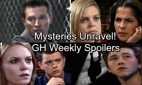General Hospital Spoilers: Week of October 16 - Patient 6's Painful PC Entry - Oscar's Dad Mystery - Sam's Tricks