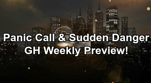 General Hospital Spoilers: Week of April 1-5 – Distress Calls, Sudden Danger and a Special Celebration