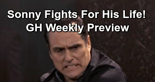 General Hospital Spoilers: Week of February 25 Preview - Sam Slaps Jason - Sonny Fights For His Life - Shocking Ryan Reveal