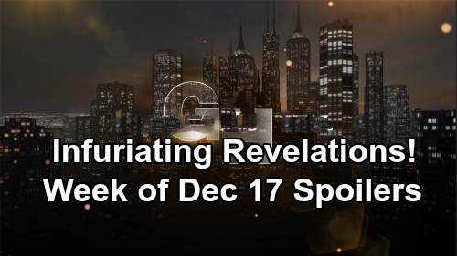 General Hospital Spoilers: Week of December 17 – Fierce Faceoffs, Startling Clues and Infuriating Revelations