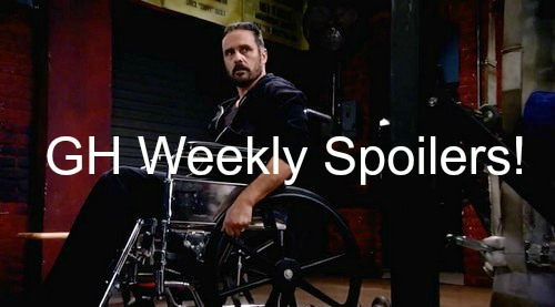 General Hospital (GH) Spoilers: Week of January 25 - Old Character Returns - Professor Parker Debuts - Mob Action & Manhunt