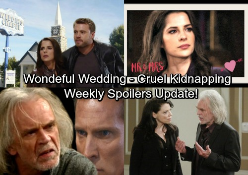 General Hospital Spoilers: Week of January 22-26 – Glorious Wedding, Brutal Attacks, and Cruel Kidnapping