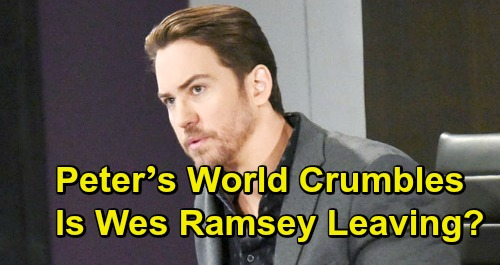 General Hospital Spoilers: Peter's World Crumbles, Will Struggling Character Stick Around - Is Wes Ramsey's GH Future in Jeopardy?