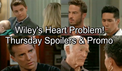 General Hospital Spoilers: Thursday, September 20 – Panic Over 'Wiley' Heart Problem – Julian Protects Sam From Jason