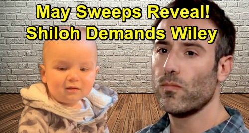 General Hospital Spoilers: May Sweeps 'Wiley' Reveal – Shiloh Demands His Son, Jonah Secret Explodes