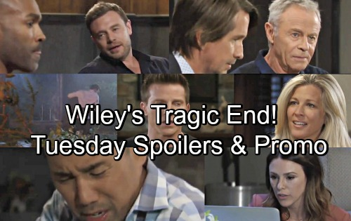 General Hospital Spoilers: Tuesday, July 31 – Brad Frantic Over Dead Baby Wiley – Sonny and Michael Caught In Explosion