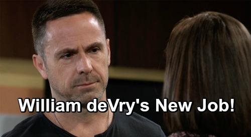 General Hospital Star William DeVry Gets A New Job On Primetime