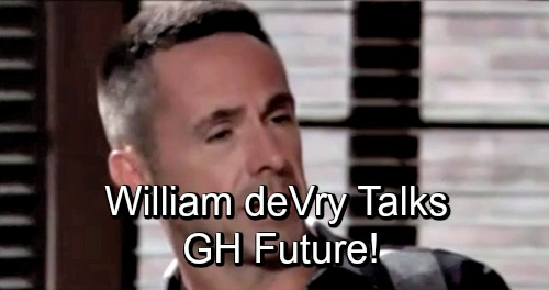 General Hospital Spoilers: William deVry Dishes on Bloody Battle With Sonny, New Love Scenes and Jason Jealousy