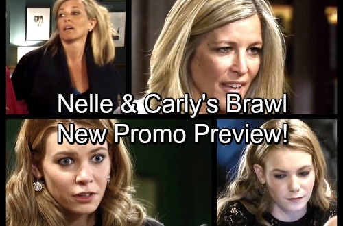 General Hospital Spoilers: GH Winter Games - Nelle and Carly Battle It Out In New Preview Promo
