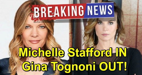 The Young and the Restless Spoilers: Michelle Stafford OUT at General Hospital - Replaces FIRED Gina Tognoni as Phyllis Summers
