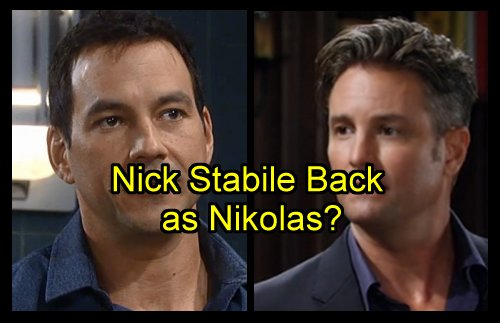 'General Hospital' Spoilers: Is Nick Stabile Hired As Permanent New Nikolas Cassadine - Replaces Tyler Christopher