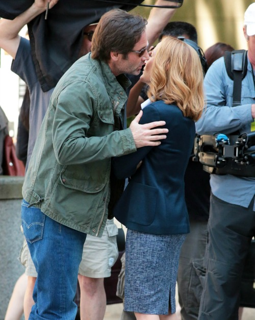 Gillian Anderson Pursuing David Duchovny Romance: Hoping for X-Files Renewal