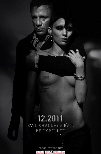 The Girl With The Dragon Tattoo Poster Revealed…And Oh What A Poster It Is!