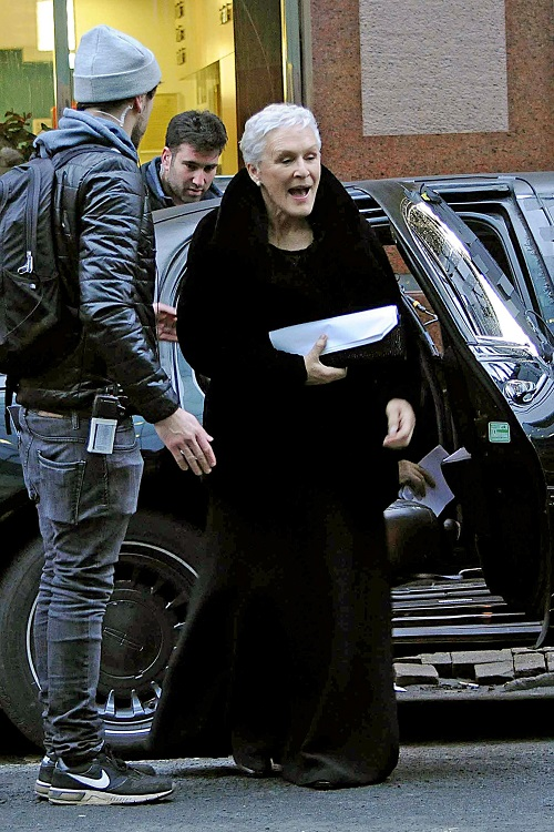 Glenn Close: Broadway Diva Flips Out on Audience Member