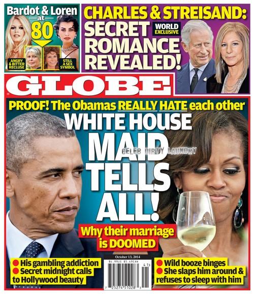GLOBE: Prince Charles and Barbra Streisand's Secret Romance: Camilla Parker-Bowles Divorce, Queen Elizabeth Agrees