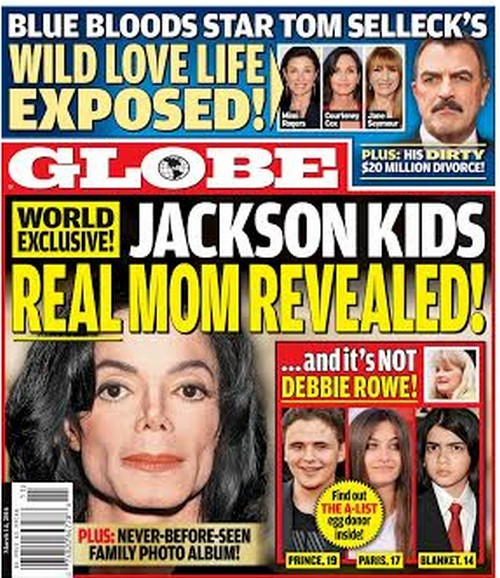 Michael Jackson Children's Real Mother Revealed: Debbie Rowe Used as Surrogate for Prince, Paris and Blanket?