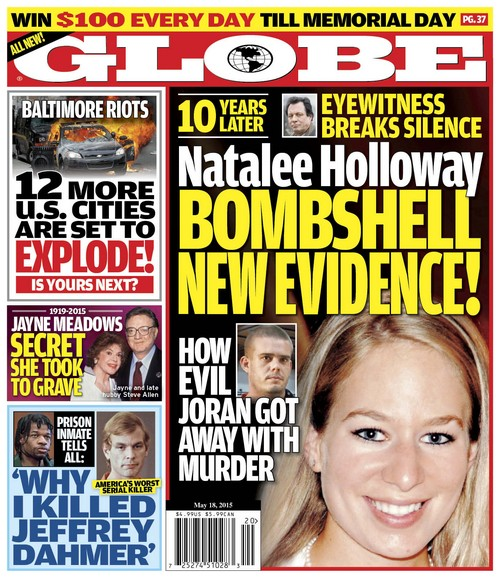 GLOBE: Natalee Holloway Bombshell New Evidence - Eyewitness Breaks Silence - Joran van der Sloot Got Away With Murder?